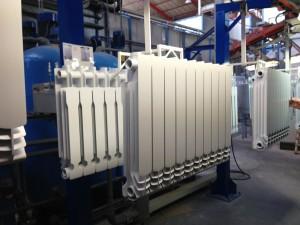 Radiatori in alluminio pressofuso - vernici per elettrodeposizione anodica di Arsonsisi