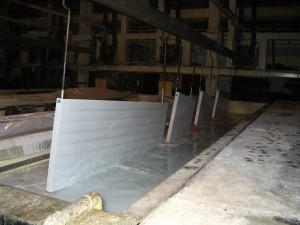 Radiatori in acciaio a piastre - vernici per elettrodeposizione anodica di Arsonsisi