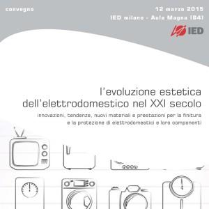 programma del convegno elettrodomestico