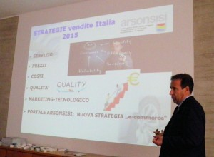 Cristoforo Brendas, responsabile commerciale delle vernici in polvere in Italia
