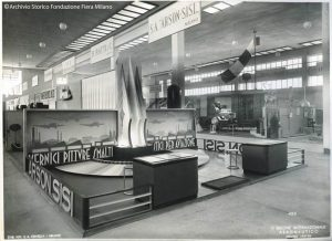 1937 An ARSON-SISI stand featuring specialty coatings for civil and military aviation