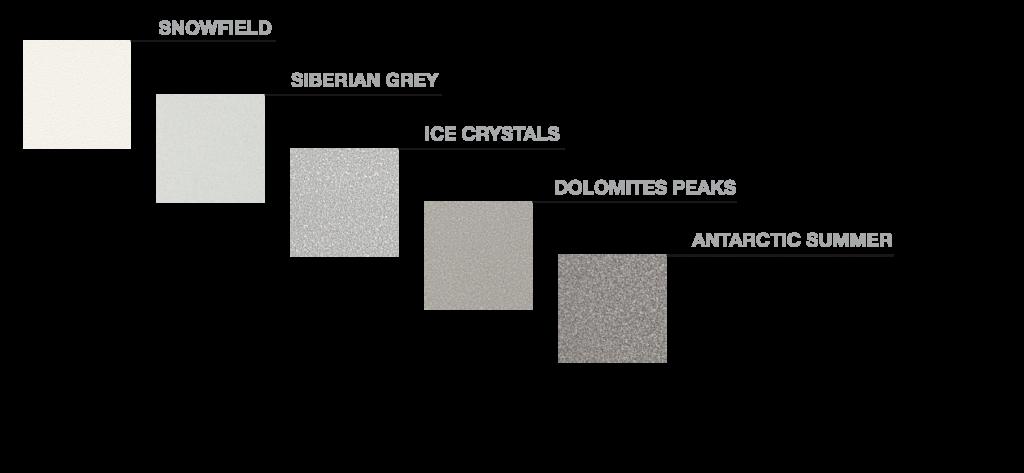 colori elemento neve