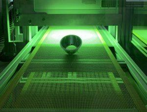 polimerizzazione tramite raggi uv
